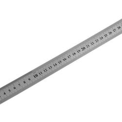 Линейка измер., 300мм метал Россия
