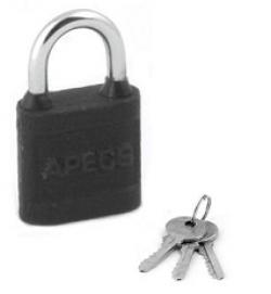 Замок висячий Apecs PD-03-30