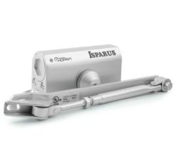 Доводчик ISPARUS 410 (от 15 до 60 кг)серебро