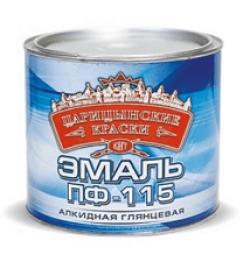 Эмаль ПФ-115  (0,25) салатная Царицынская