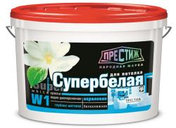 Краска ВД-АК 212 (W-1) д/потолка 1,5кг,Престиж